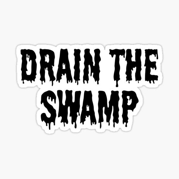 Drain the Swamp USA Sticker