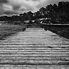 Cold pier by Ulf Bjolin