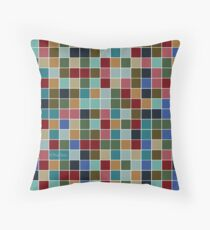 Gridlocked Throw Pillow