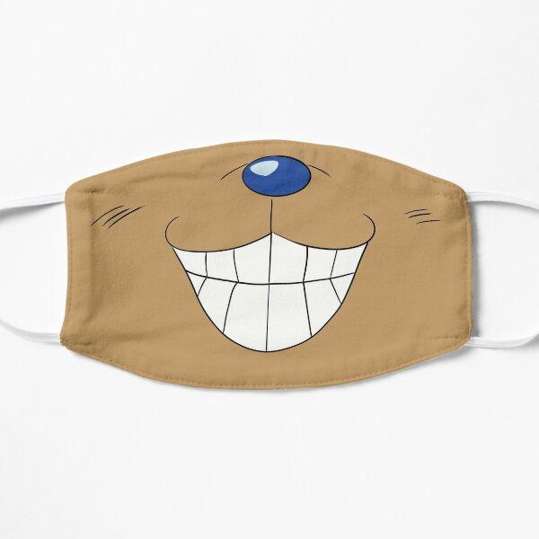 Chopper mouth Flat Mask