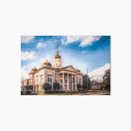The Shelby Courthouse  Art Board Print