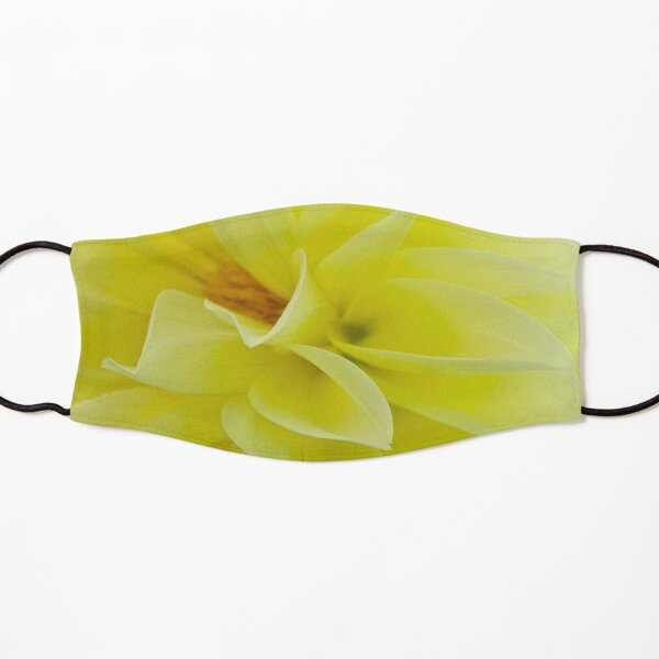 Lemon-drop yellow Kids Mask