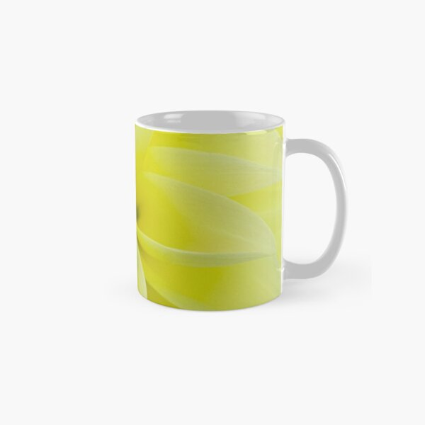 Lemon-drop yellow Classic Mug