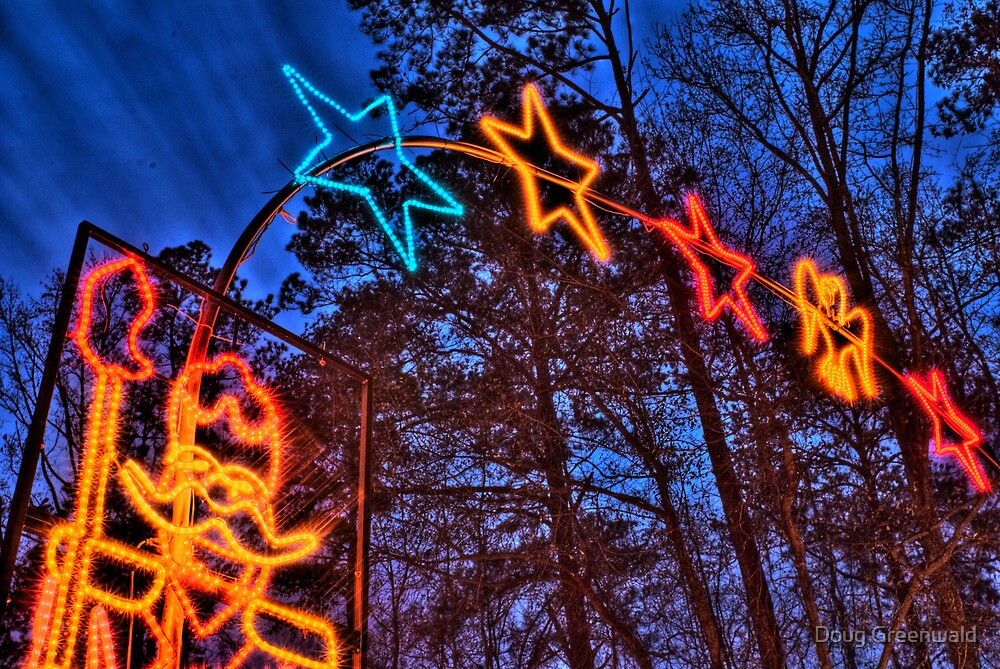 HDR - Nutcracker, Stars, and Sky by Doug Greenwald