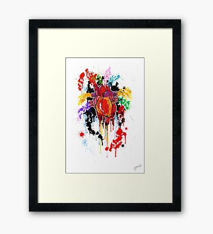 Bleed Creation Framed Print