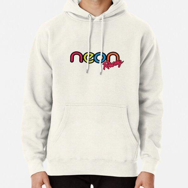 Neon Racing Pullover Hoodie