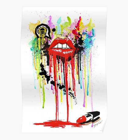 Poison Lips Poster