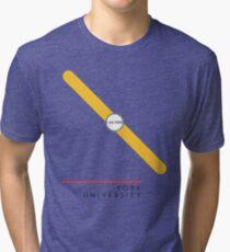 ¥ORK UNIVERSITY [white] Tri-blend T-Shirt