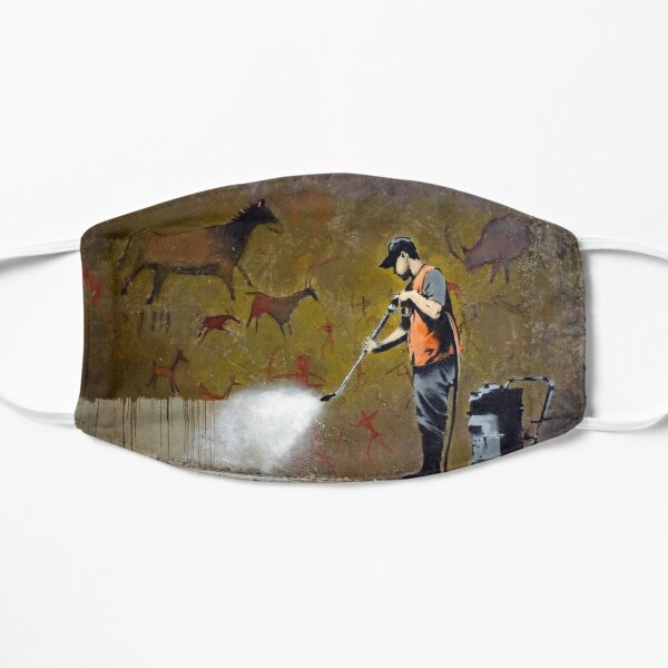 Council Worker by Banksy Flat Mask