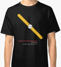 ¥ORK UNIVERSITY [black] Classic T-Shirt