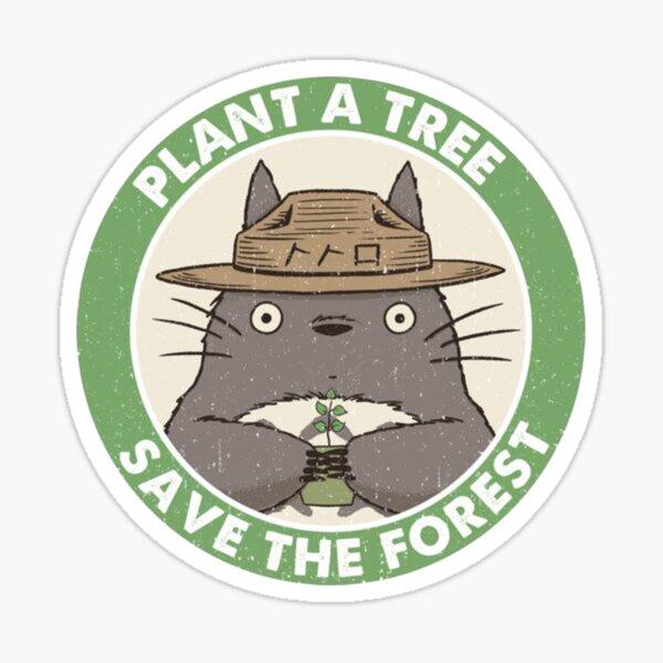 Plant a tree Sticker