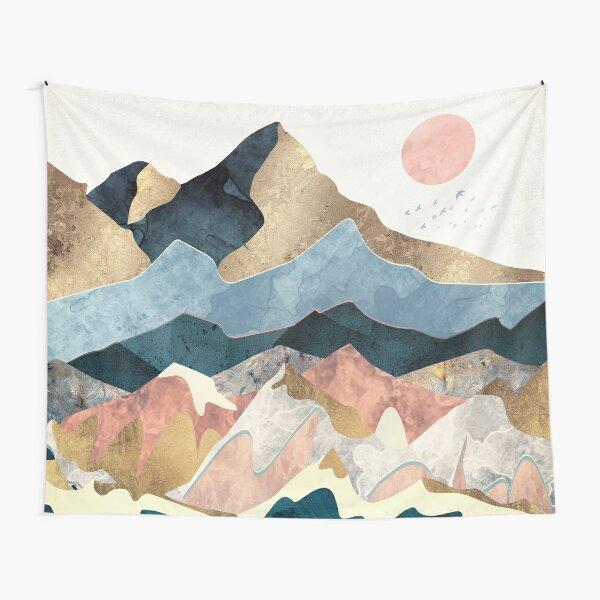 Golden Peaks Tapestry
