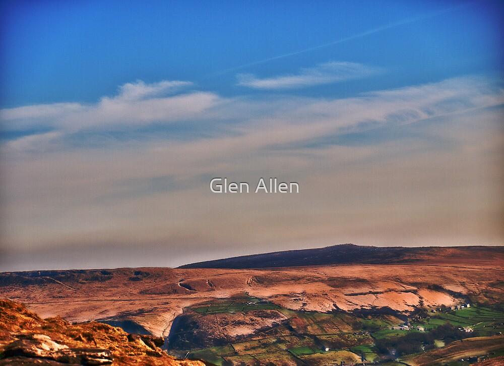 View from Marsden Moor by Glen Allen