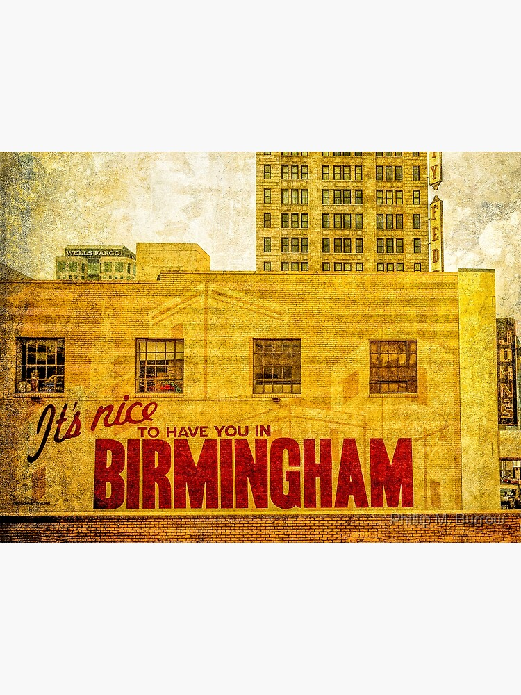 It's nice to have you in Birmingham by pmburrow