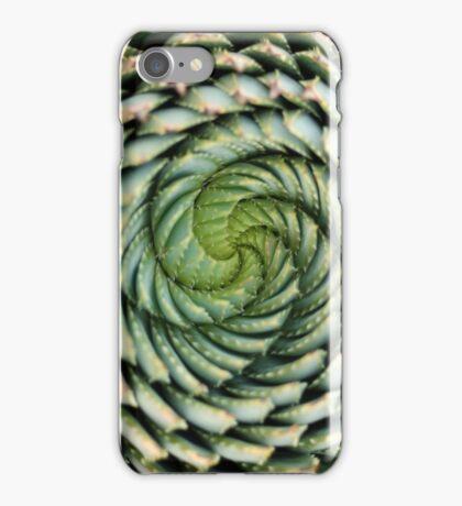 spiral aloe - lesotho's endangered species iPhone Case/Skin