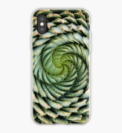 spiral aloe - lesotho's endangered species iPhone Case