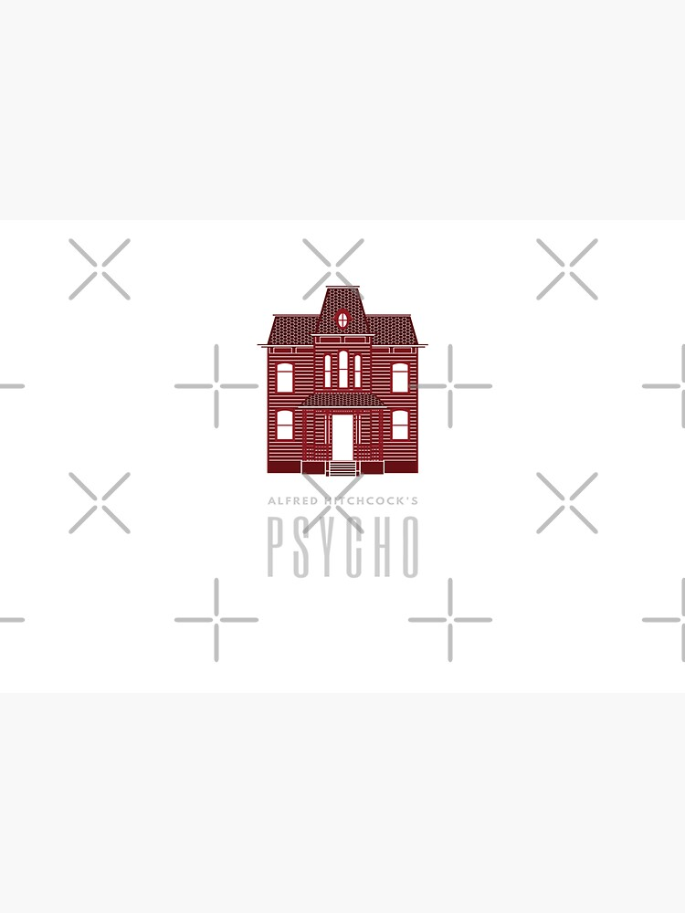Alfred Hitchcock's PSYCHO (Blood Red) by splode