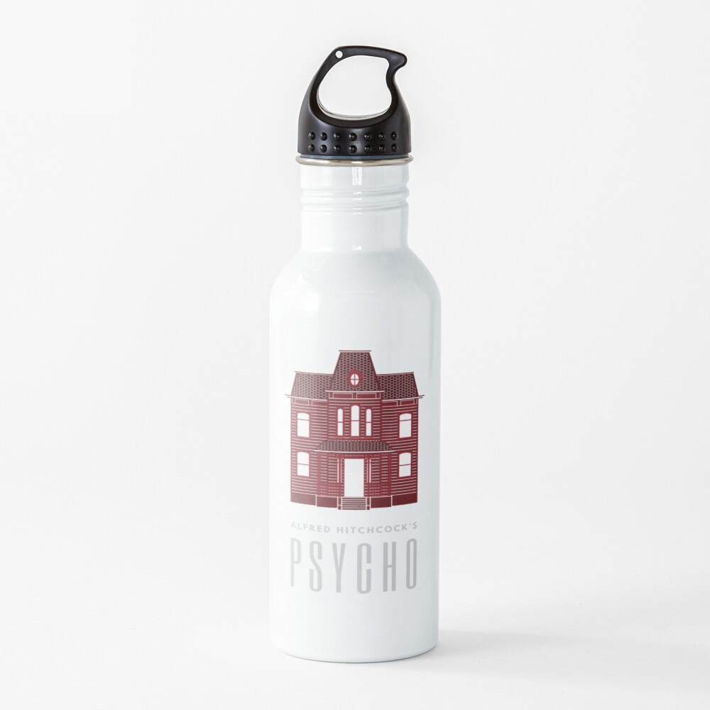 Alfred Hitchcock's PSYCHO (Blood Red) Water Bottle