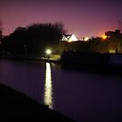 Canal by Night by Phill Sacre
