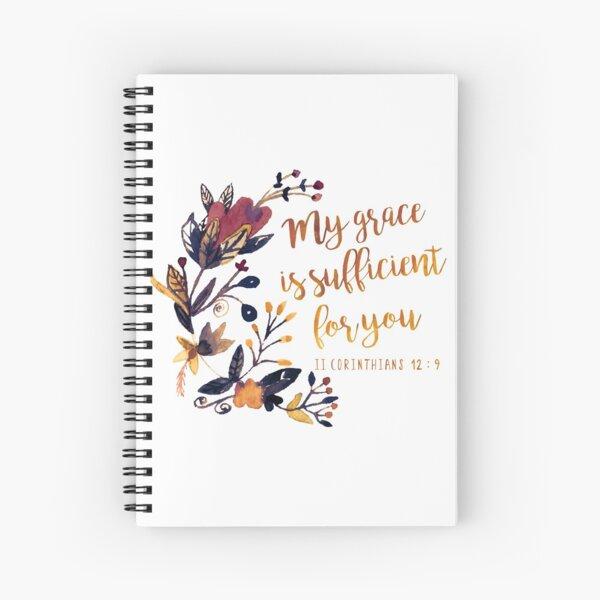 II Corinthians 12:9 Spiral Notebook