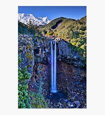 Mangawhero Falls Photographic Print