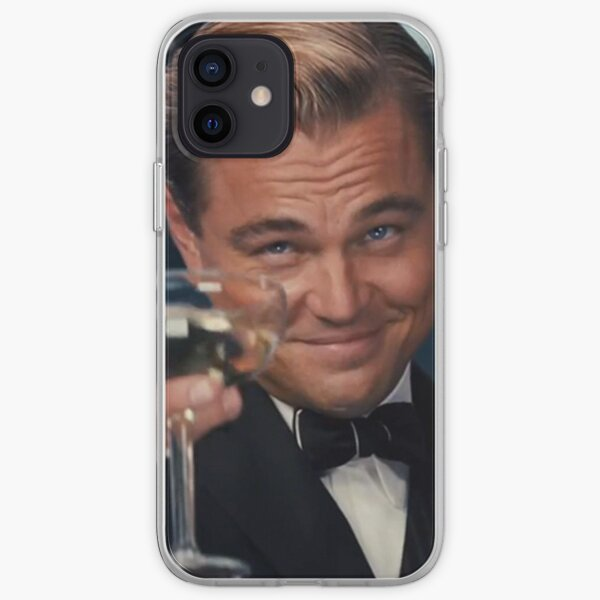 Leonardo Dicaprio Great Gatsby iPhone Soft Case