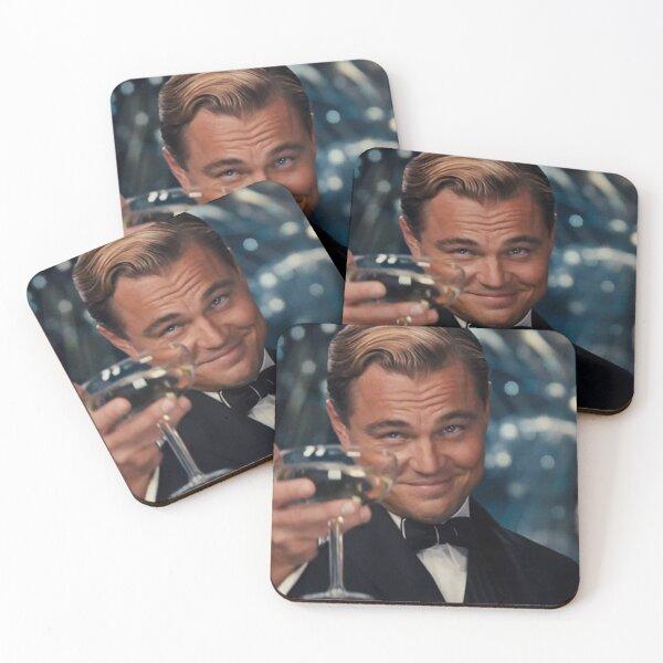 Leonardo Dicaprio Great Gatsby Coasters (Set of 4)