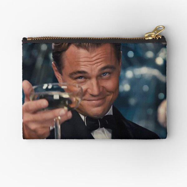 Leonardo Dicaprio Great Gatsby Zipper Pouch