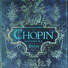 Frederick Chopin Blue by JBJart