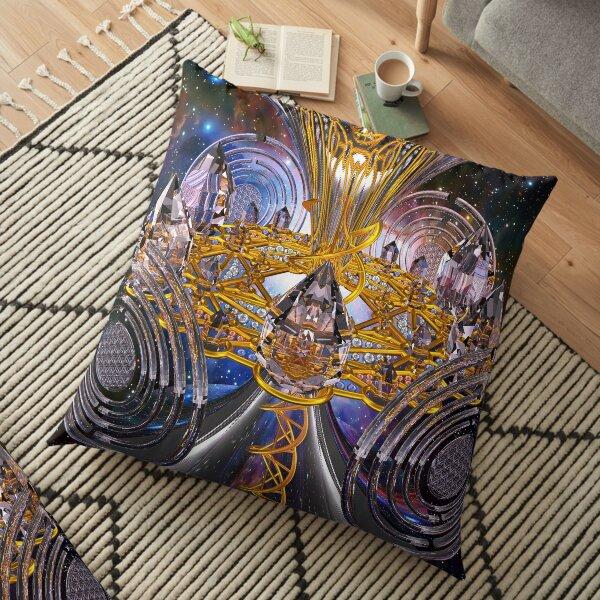 Scalar Wave DNA Healing Code Floor Pillow