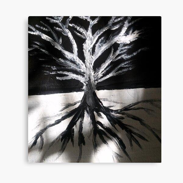 Encadrée Imprimer-Forêt Yin Yang Photo Poster oriental japonais l/'art chinois