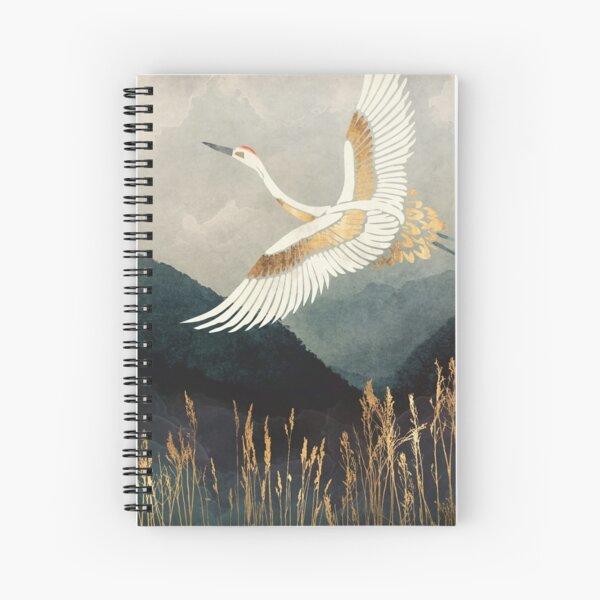 Elegant Flight Spiral Notebook
