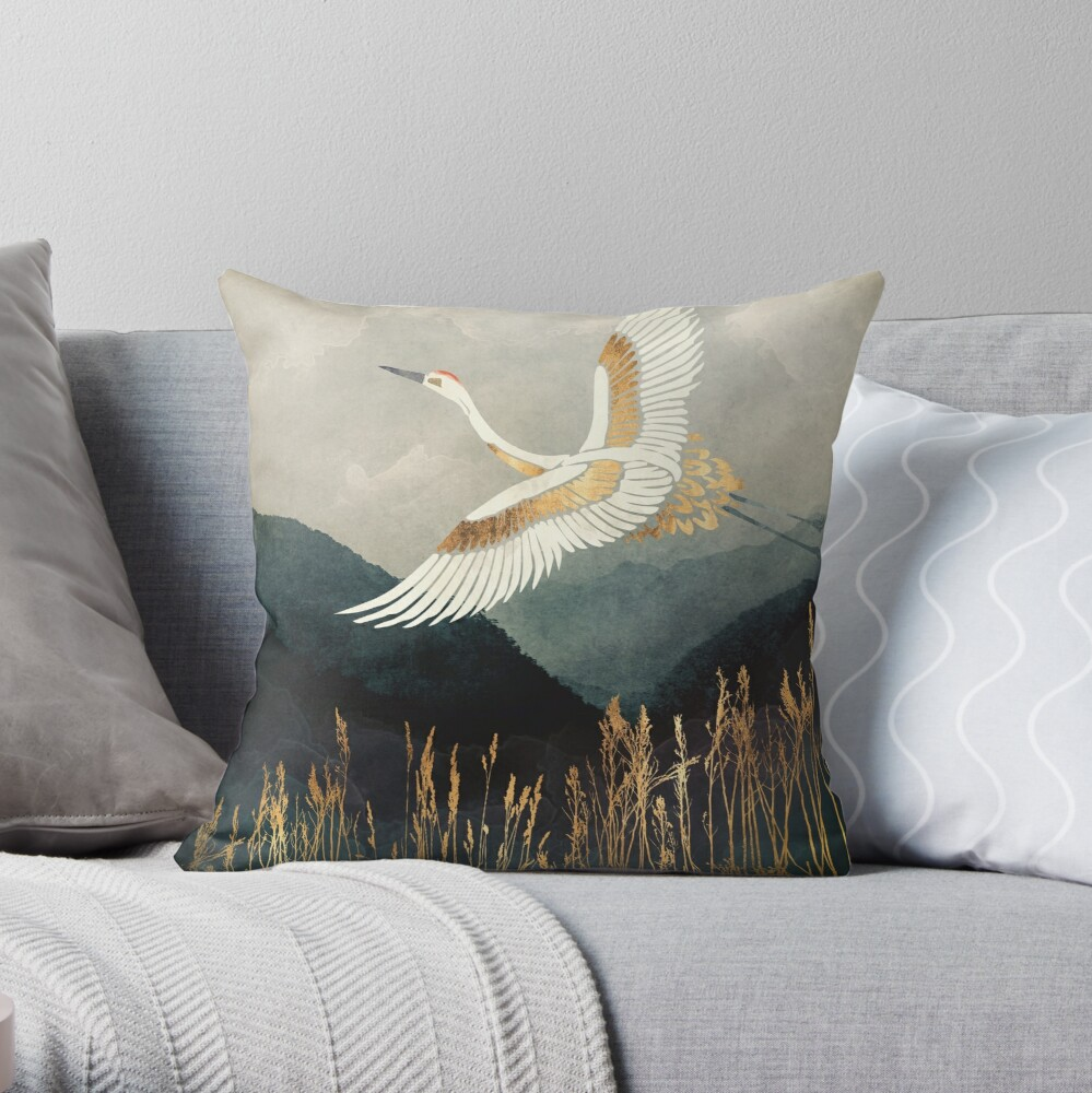 Eleganter Flug Dekokissen