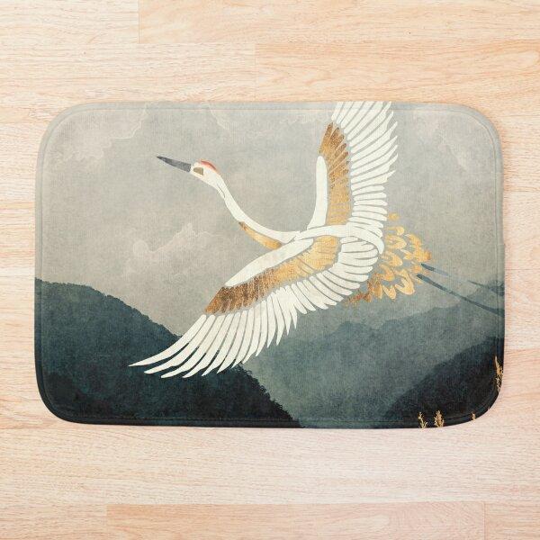 Elegant Flight Bath Mat