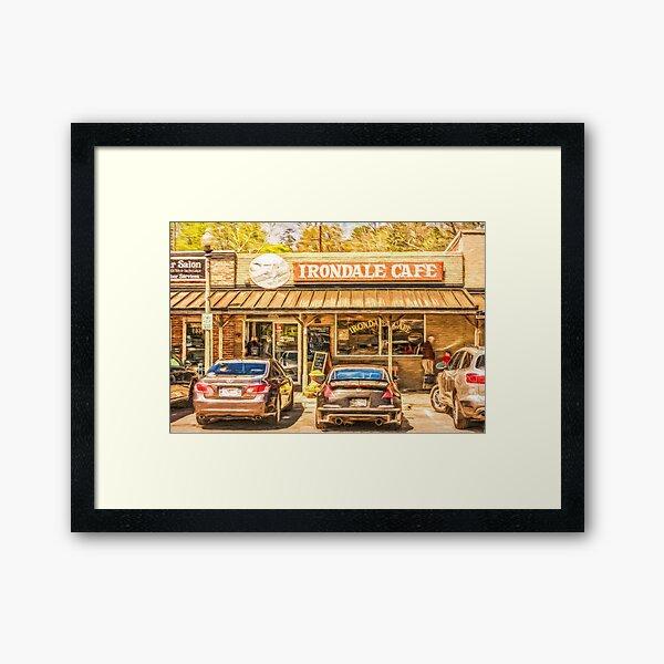The Whistle Stop Cafe Framed Art Print