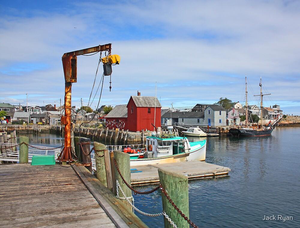 Rockport Harbor by Jack Ryan