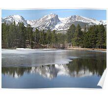 Rocky Mountain National Park at Sprague Lake Poster
