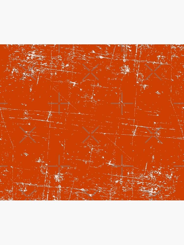 Burnt Orange Grunge Design by CreatedProto