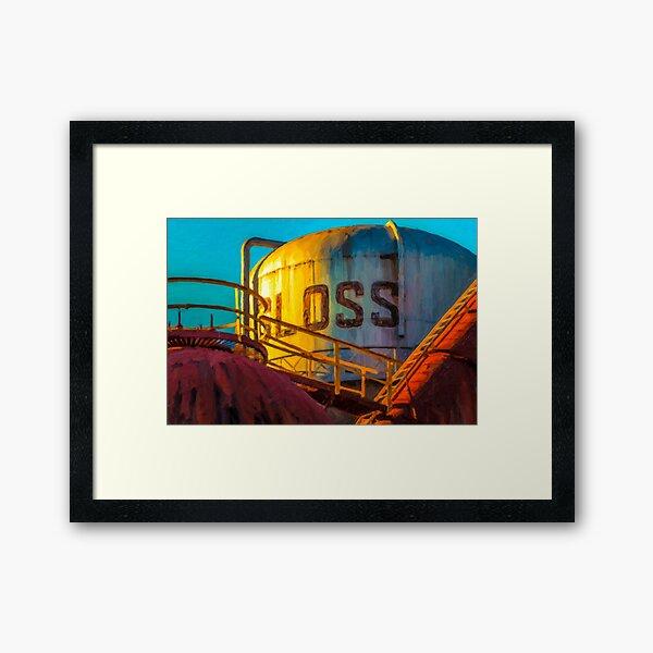 Sloss Furnaces  Framed Art Print