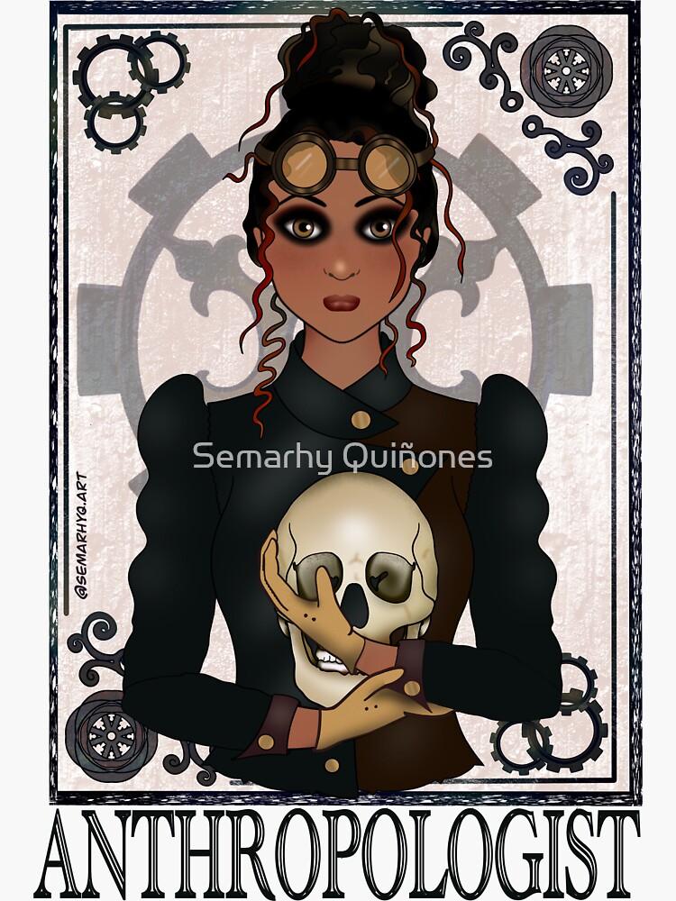 Anthropologist (SteamPunk Art) by semarhy