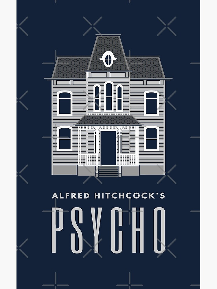 Alfred Hitchcock's PSYCHO (Grey) by splode