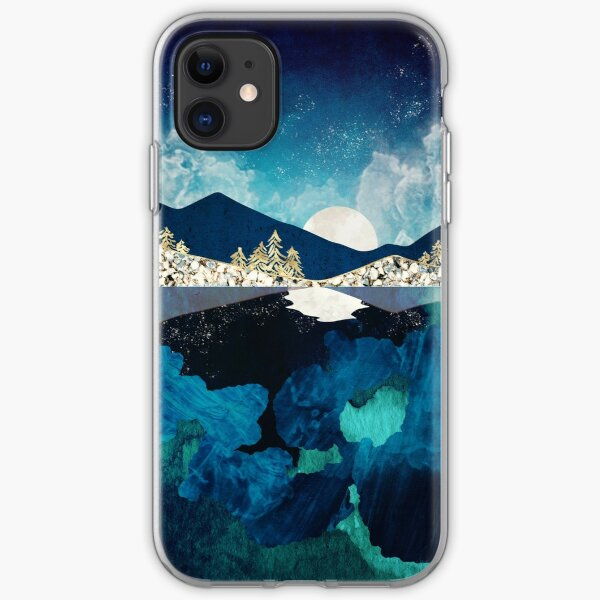 Midnight Water iPhone Soft Case