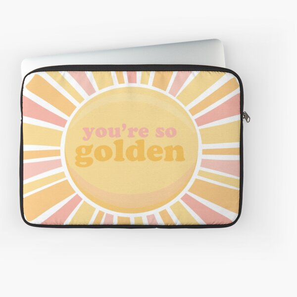you're so golden  Laptop Sleeve