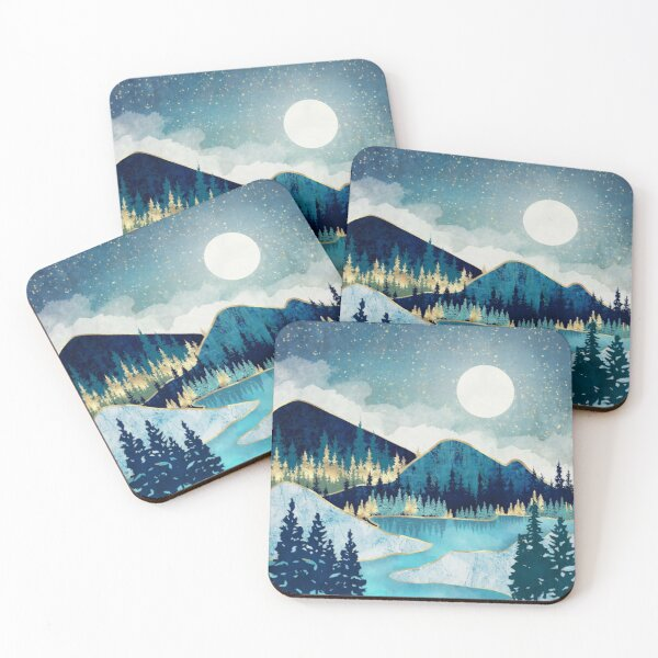 Morning Stars Coasters (Set of 4)