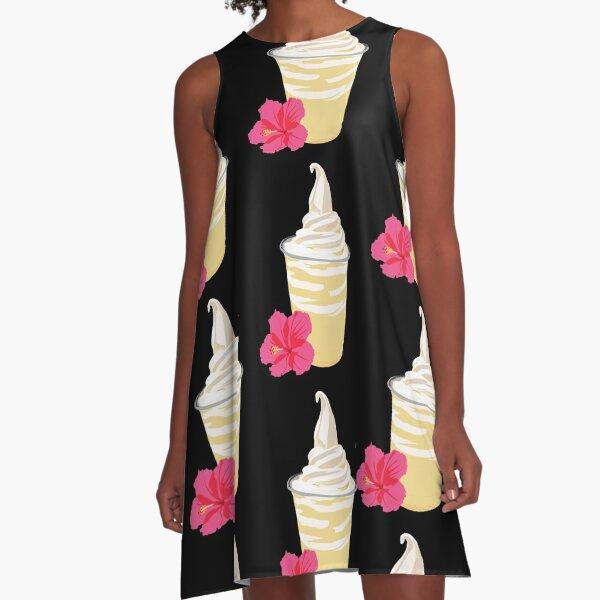 Dole Whip A-Line Dress