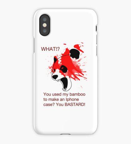 Panda and his Bamboo iPhone Case