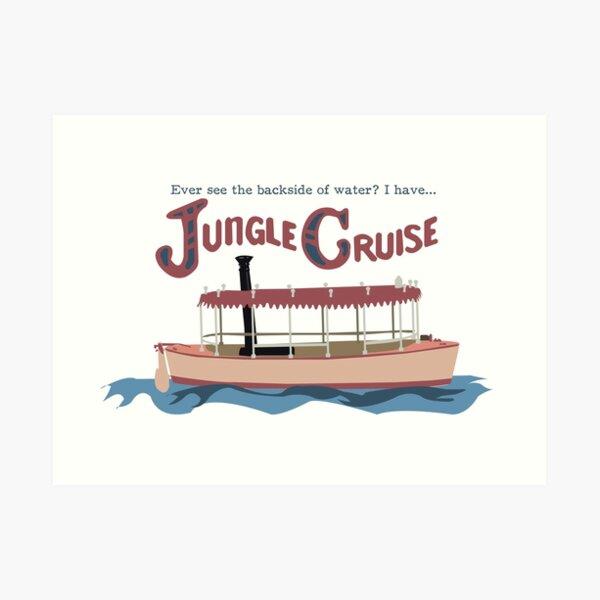 Jungle Cruise Art Print