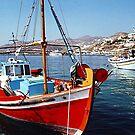 CAIQUES, MYKONOS, GREEK ISLANDS.........! by Roy  Massicks