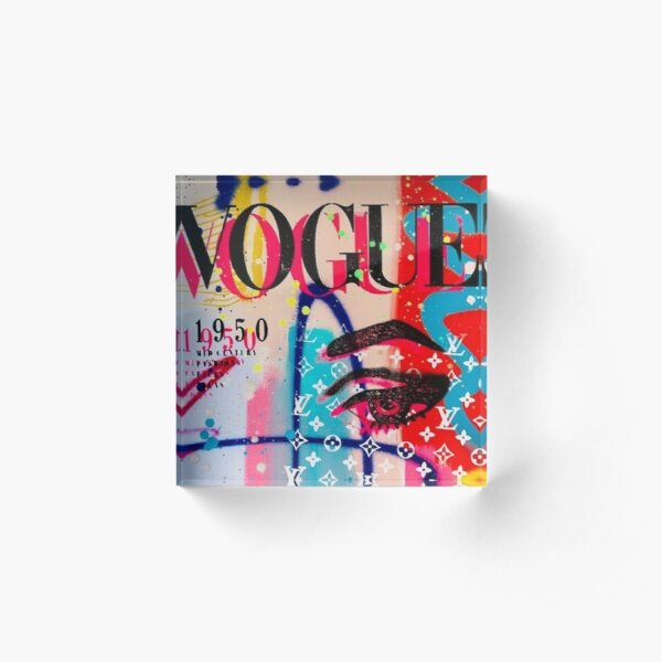 Vogue Cover Acrylic Block