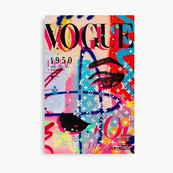 Vogue Cover Canvas Print